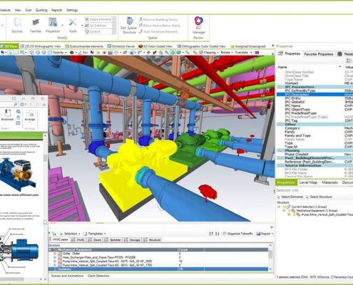 6D BIM in Bexel Manager Software.