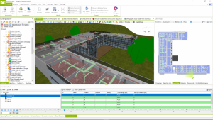 Scenes and animations in Bexel Manager Software.