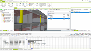 Auto distribute elements in Bexel Manager Software.