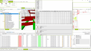 Clash management tool in Bexel Manager Software.