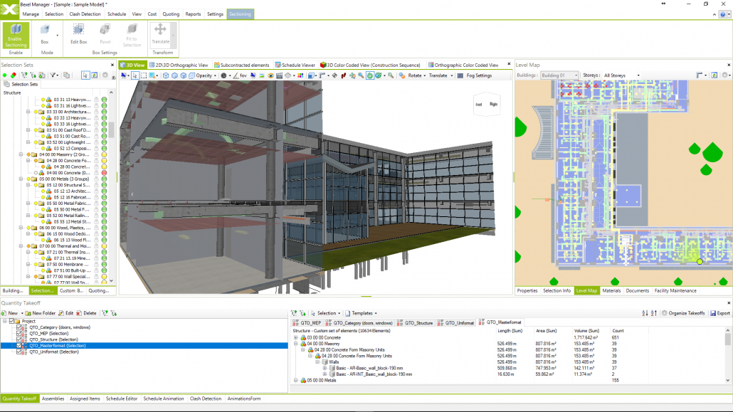 Advanced visualization in Bexel Manager Software.
