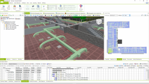 Level map in Bexel Manager Software.