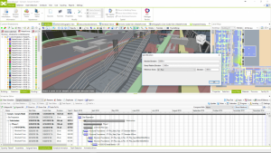 Measure distance tool in Bexel Manager Software.